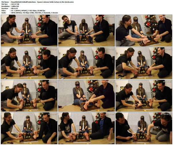 BeautifulGirlsTickledProductions - Syana's intense tickle torture in the stocksBeautifulGirlsTickledProductions VIP Clips