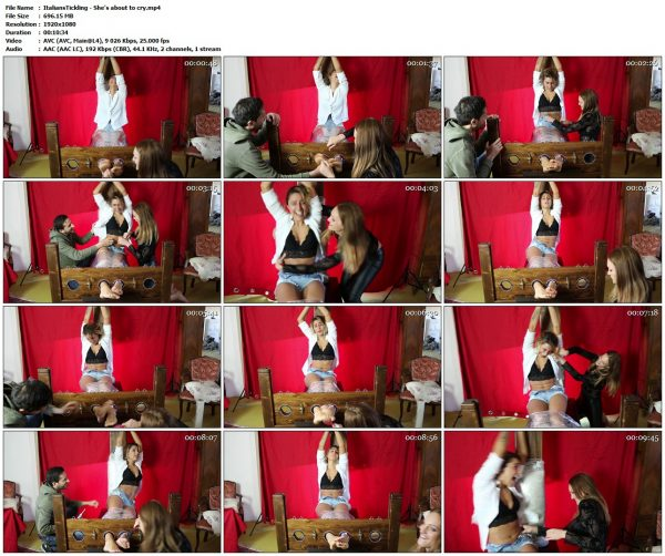 ItaliansTickling - She's about to cryItaliansTickling VIP Clips