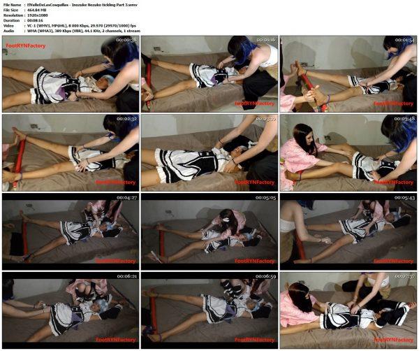 ElValleDeLasCosquillas - Inozuke Nezuko tickling Part 3ElValleDeLasCosquillas