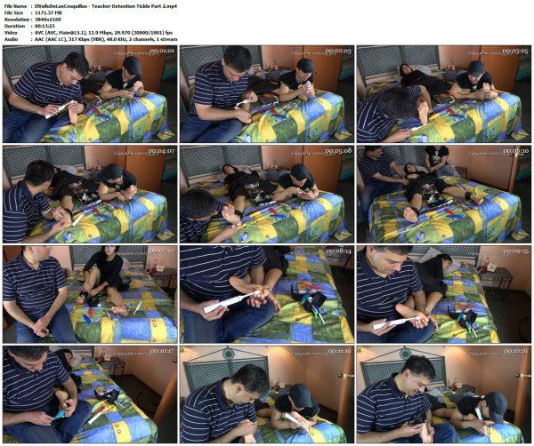 ElValleDeLasCosquillas - Teacher Detention Tickle Part 2ElValleDeLasCosquillas VIP Clips