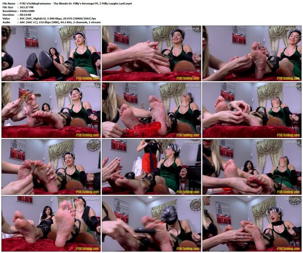 FTKL'sTicklingFantasies - The Blonde Dr. Milly's Revenge! Pt. 3 Milly Laughs Last!FTKL'sTicklingFantasies VIP Clips