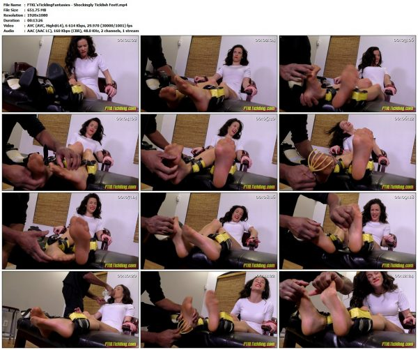 FTKL'sTicklingFantasies - Shockingly Ticklish Feet!FTKL'sTicklingFantasies VIP Clips