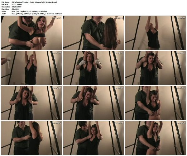 GirlsTiedAndTickled - Emily Intense light tickling 2Skelyrata / Girls Tied and Tickled