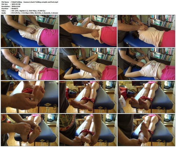 PolishTickling - Joanna is back Tickling armpits and feetPolishTickling VIP Clips