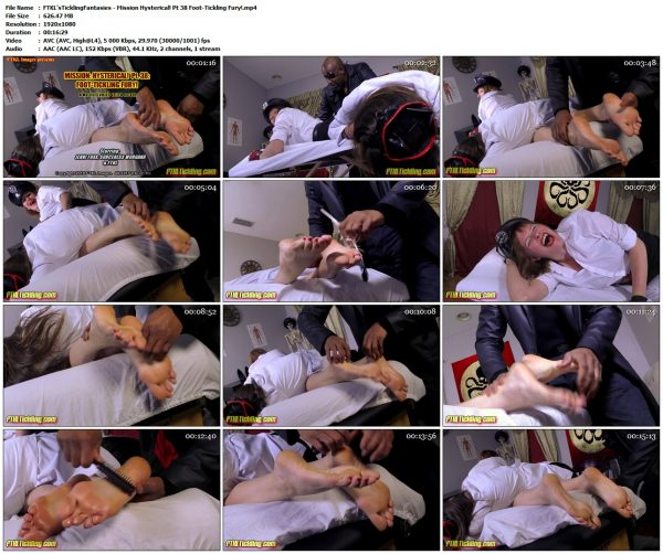 FTKL'sTicklingFantasies - Mission Hysterical! Pt 38 Foot-Tickling Fury!FTKL'sTicklingFantasies VIP Clips