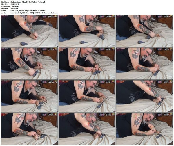 FatguyFilms - MIss B's Bed Tickled FeetFatguyFilms VIP Clips
