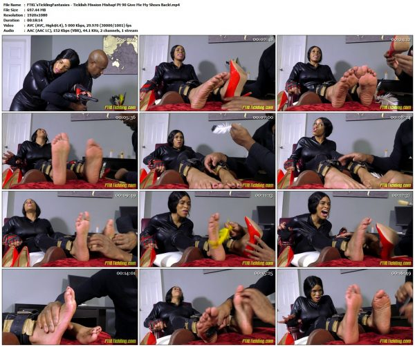 FTKL'sTicklingFantasies - Ticklish Mission Mishap! Pt 90 Give Me My Shoes Back!FTKL'sTicklingFantasies VIP Clips