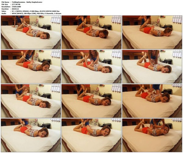 TicklingSessions - Nathy HogtiedTicklingSessions